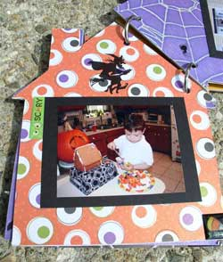 haunted house scrapbook 8