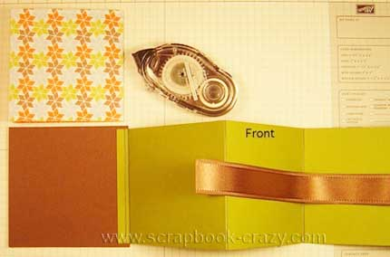 mini scrapbook tutorial pic