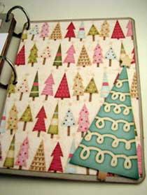 Joy Christmas Scrapbook Mini Album 9