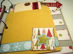 Joy Christmas Scrapbook Mini Album  6