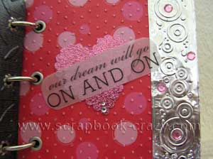 Metal Scrapbook  page on and on