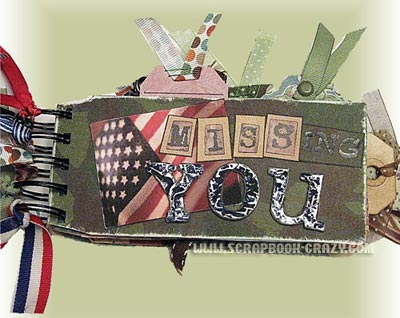 Military Scrapbooking Ideas For Mini Albums