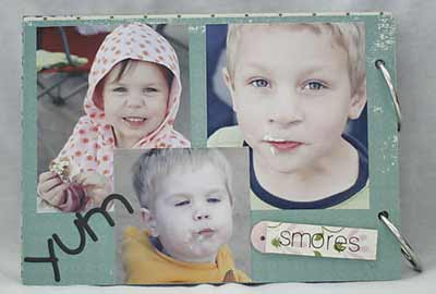 making memories scrapbook - the yum page