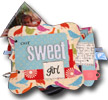 another fab little mini mixed up scrapbook