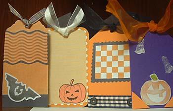 my first halloween scrapbook - inside pictures.