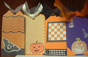 my first halloween scrapbook - inside pictures.