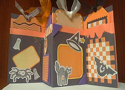 My First Halloween Scrapbook | Halloween Mini Albums
