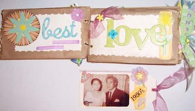 simply us scrapbook paperbag scrapbook
