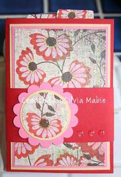 One page Pocket book by Silvia.