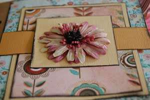 pregnancy scrapbook mini album