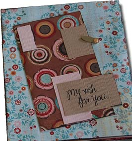 Pregnancy paper bag journal