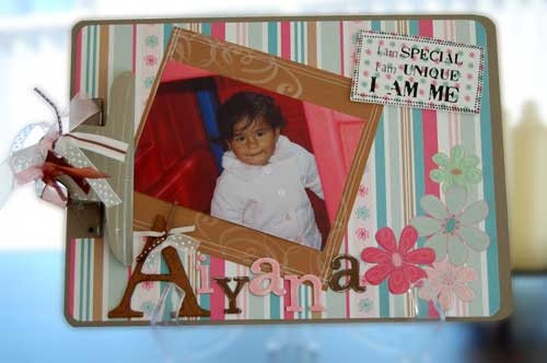 scrapbooking off the page clipboard - aiyana