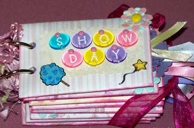 Show Day Scrapbook