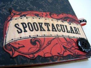 Spooktacular Halloween Paper Bag Album