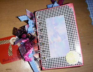 artisan tape to embellish Spring Scrapbook