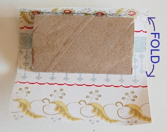 Toilet tissue Roll Mini scrapbook