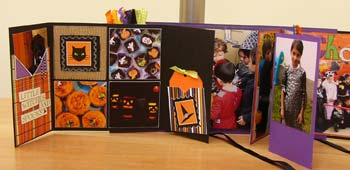 trick or treat mini album