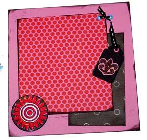 purse mini album