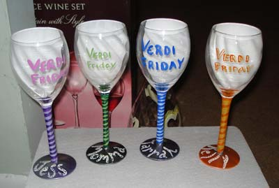 altered Wine Glasses