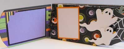 Boo Book - Mini Scrapbook