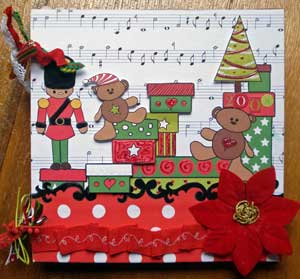 Christmas Memories Scrapbook inner pages