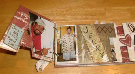 scrapbook present you can make for your dad