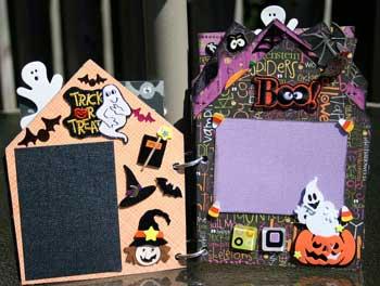 Halloween 2008 Scrapbook - trick or treat