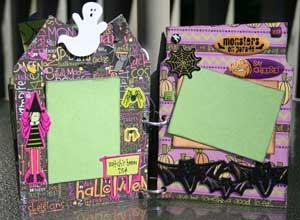 Halloween 2008 Scrapbook