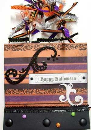 Halloween Shopping Bag Album
