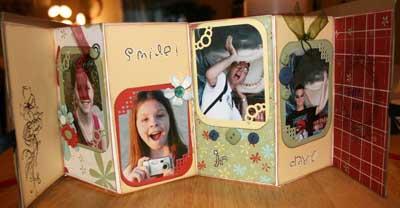 Mini Scrapbook Ideas Accordion Album With Tutorial