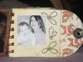 Xmas Bind It All Minibook 10