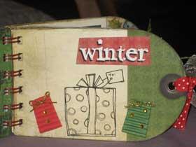 Xmas Bind It All Minibook 8