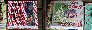 christmas traditions scrapbook