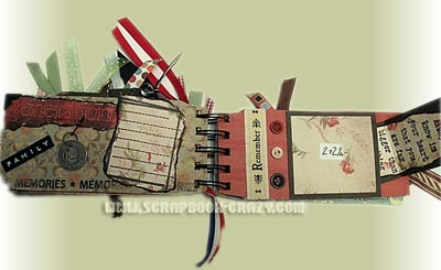 military scrapbooking
