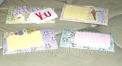 toilet paper mini book pages