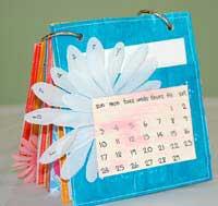 paper bag album - february
