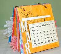 paper bag album - march