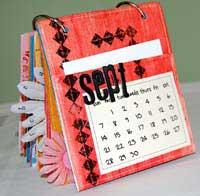 paper bag album - september