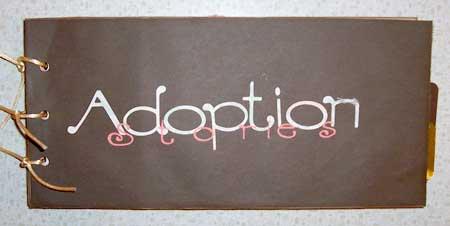 pet adoption scrapbooking mini album
