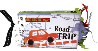 Road Trip Scrapbook Mini
