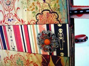 Spooktacular mini scrapbook
